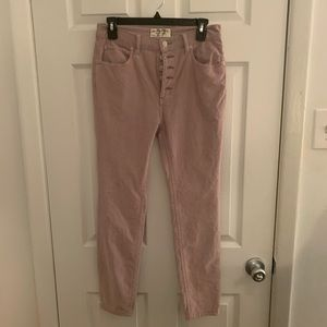NWOT Free People 'Sun Chaser' Corduroy Jeans!